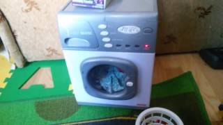 Детская электронная стиральная машина. Обзор. Casdon Little Helper, Electronic Washer(, 2017-01-11T08:21:51.000Z)
