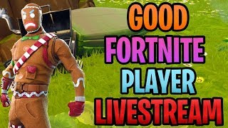 Ginger Bread Set Is Back | Good Fortnite Season 7 Player Livestream | Fortnite Vbucks Giveaway Soon