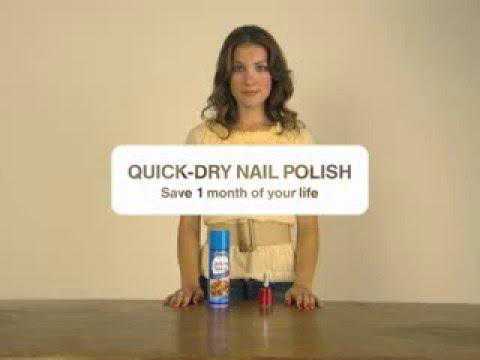 Тайм-менеджмент (Как быстро высушить ногти)