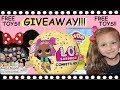 FREE TOY GIVEAWAY LOL Surprise Ball Disney Play Doh Mac 5 Family mp3