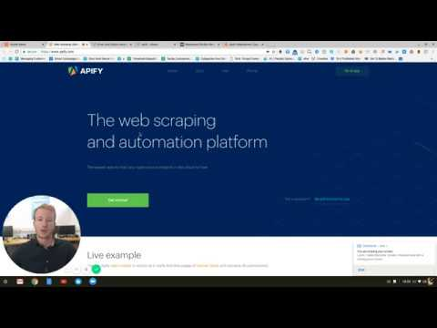 Web Scraping Overview with Apify - Automating Market Research
