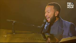 WATCH: John Legend and Common perform 'Glory' at the 2020 Democratic National Convention