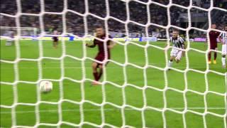 Juventus - Roma 3-2 - Highlights - Giornata 06 - Serie A TIM 2014/15