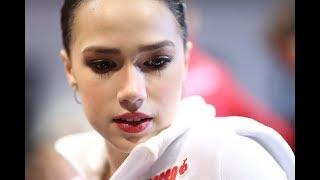 Слёзы Алины Загитовой после проката ПП на Финале Гран при