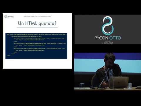 Image from Realizzare stampe HTML e PDF usando solo Python