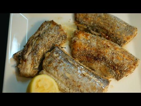스텐팬에서 비린내 없이 생선굽기