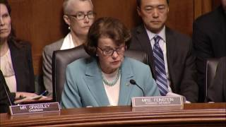 Feinstein at Comey Hearing