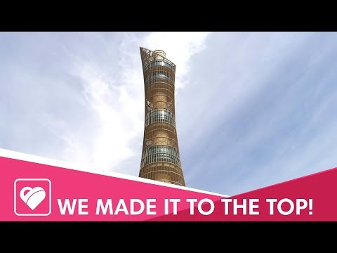 Can we survive the climb to the 51st floor of The Torch Doha?
