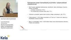 KV-kevätpäivät 2019 | Maahanmuuttovirasto | Suomeen saapuvat työntekijät | Laura Suominen