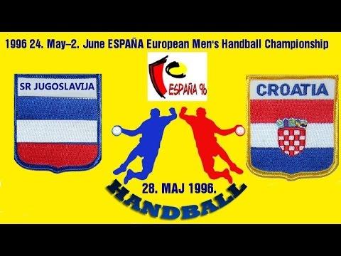 Handball 1996 SR JUGOSLAVIJA HRVATSKA 2. European Championships balonmano гандбол 핸드볼