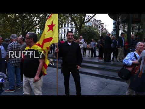 Spain: Basques rally in support of jailed Catalan leaders