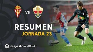 Resumen de Real Sporting vs Elche CF (1-0)