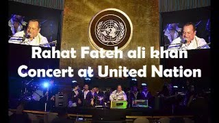 Rahat Fateh Ali Khan Concert in United Nation 23 march 2016 | Special Pakistan Day  celebration