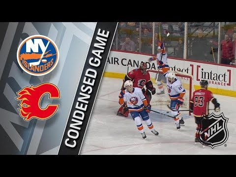 New York Islanders vs Calgary Flames March 11, 2018 HIGHLIGHTS HD