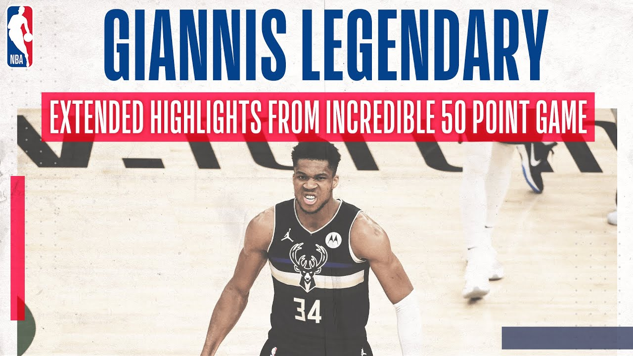 Download GIANNIS 50 POINT INSTANT CLASSIC!!! 💥💪👽 | Extended highlights of Giannis' incredible game 6