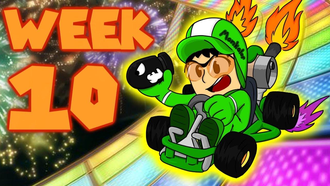 Week 10 Mankalor S Mario Kart 8 Deluxe 150cc Tournament Youtube