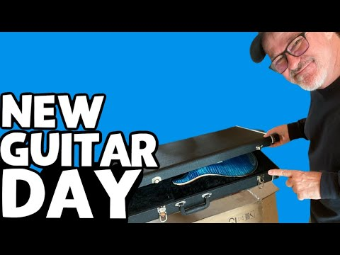 The Guitar that Took 20 Years to Arrive!  David Grissom and the DGT