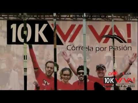 Minutos antes de correr la 10K VIVA! 2011