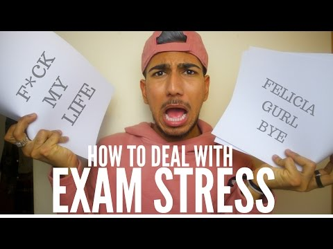 How to DEAL with EXAM STRESS, STAY CALM & BE POSITIVE!