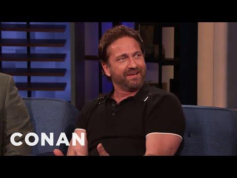 Gerard Butler Was Burglarized Twice - CONAN on TBS