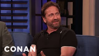 Gerard Butler Was Burglarized Twice - CONAN on TBS