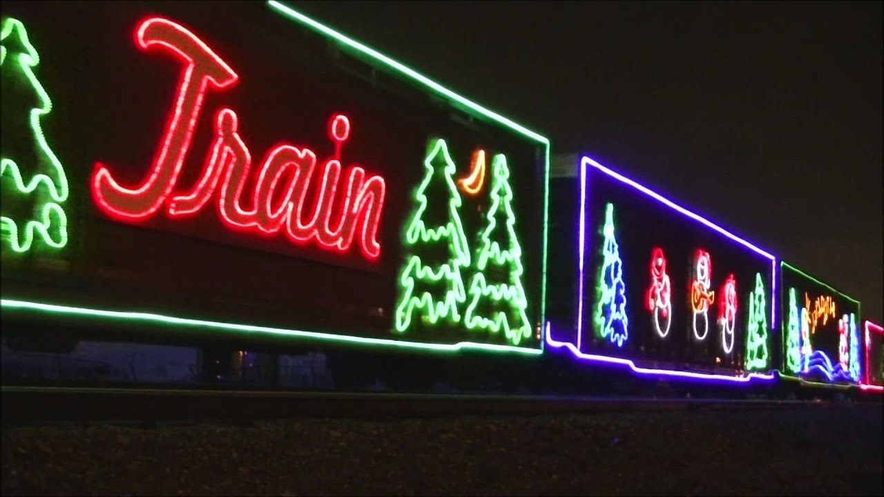 cp holiday train 2015 allen park taylor michigan youtube