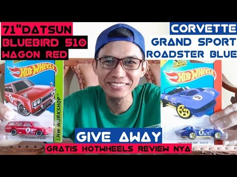 GIVE AWAY aka GRATIS HOTWHEELS REVIEW nya – 71 Datsun Bluebird 510 Wagon | Sobat FHR id