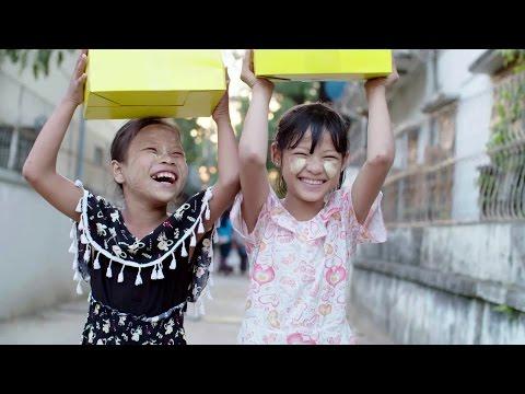 Christmas Comes Early to Myanmar