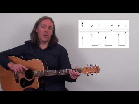 Learn The Number One Guitar Fingerpicking Pattern