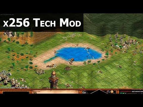 Random Everything with x256 Tech Mod!
