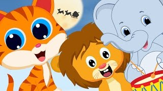 The Animal Sounds 🐱🐮🐘🐷🐍   The Animal Sounds Rhyme   Nursery Rhyme With lyrics   Learning Song