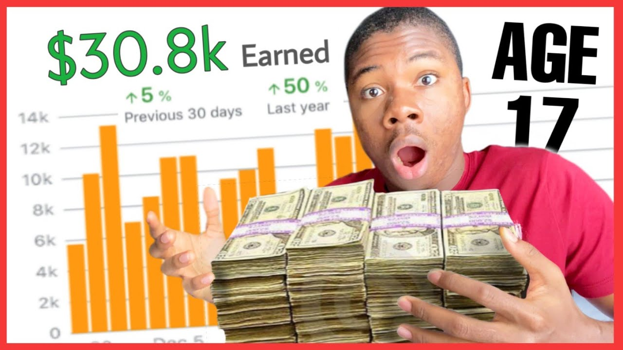 How I Earned $30,000 At Age 17 | MY MONEY MAKING JOURNEY