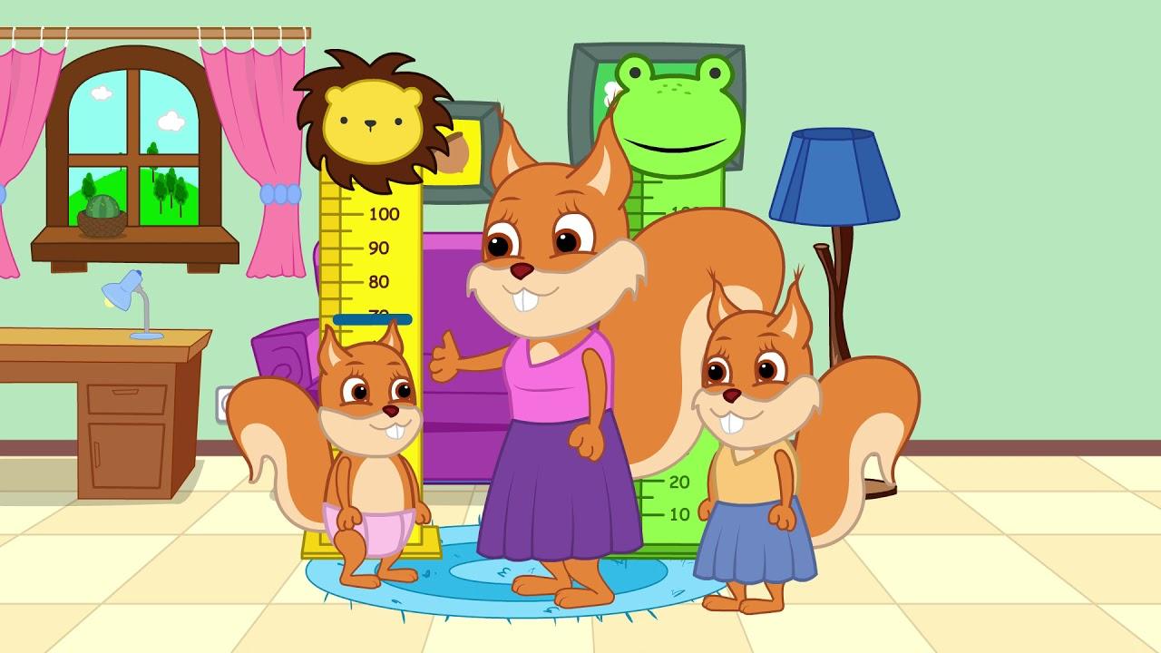 ब्रिडी गिलहरी - सबसे ऊपर  बच्चों के कार्टून