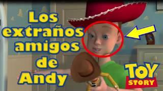 Lo que nadie notó sobre los amigos de Andy en Toy Story I