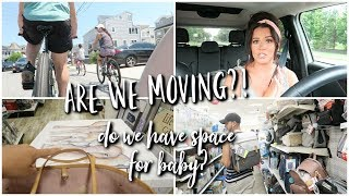 Are We Moving? Do we have space for baby? LIFE UPDATE.
