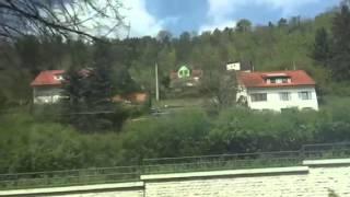 Train ride from Stuttgart to Zurich