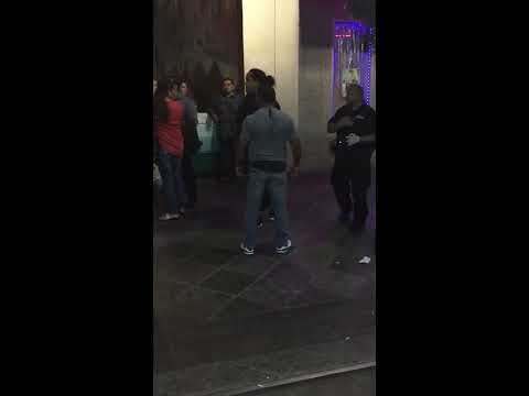 San Jose Downtown Fight