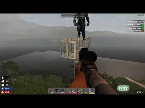 Why A Pit Fall / Tower Base Is A Good Idea   7 Days to Die   Alpha 15.1   GSBS