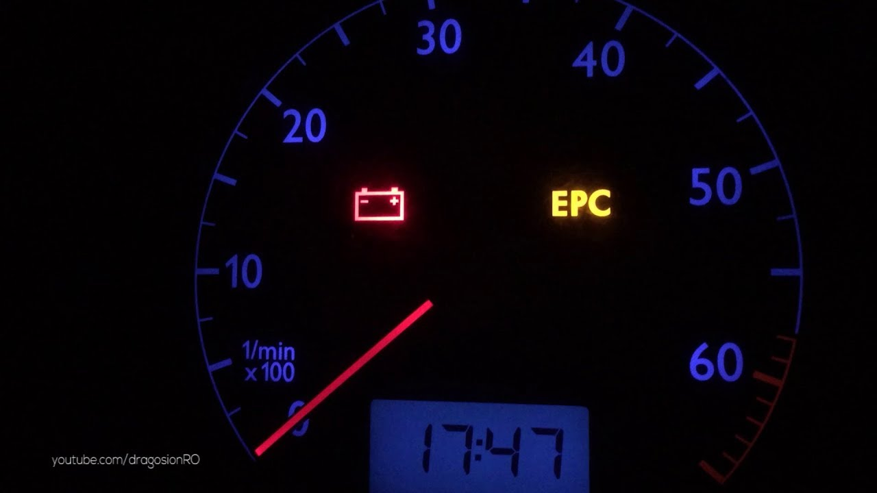 EPC Light Fix in VW Polo 9N 2003 1.2 AZQ - YouTube