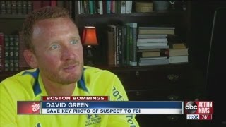 Jacksonville Beach runner gets photo of suspect fleeing Boston Marathon