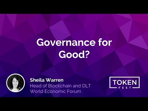 Sheila Warren - Blockchain for Good