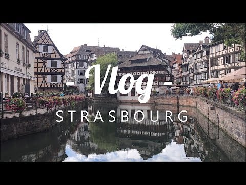 TRAVEL VLOG - Strasbourg