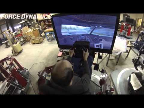 Force Dynamics 401cr racing simulator and Koenigsegg One:1