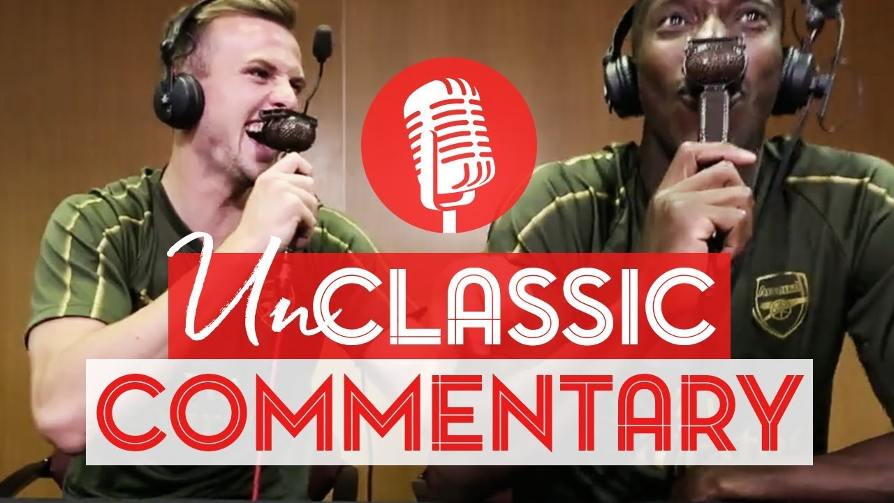 UnClassic Commentary | Welbeck & Holding | Arsenal 2 - 1 Chelsea | FA Cup winners 2017