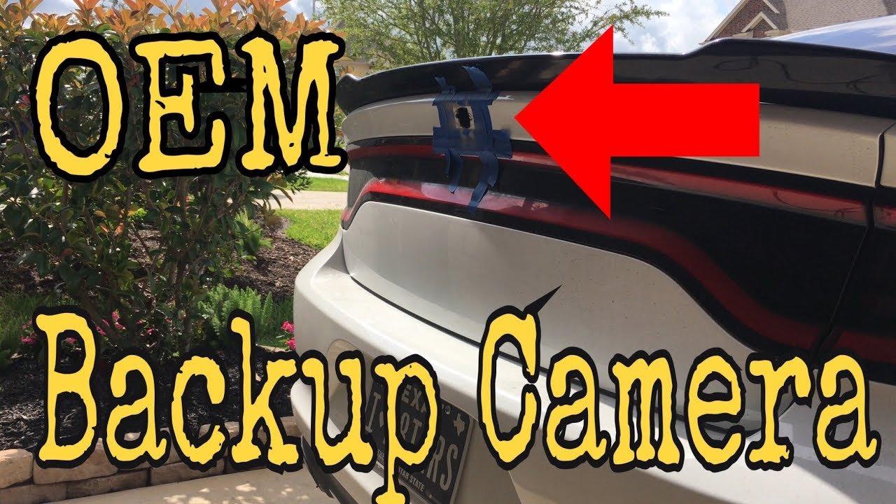Oem 2017 Dodge Charger Backup Camera Installation Diy 4k