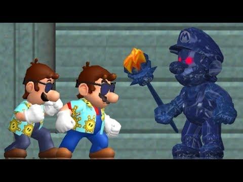 New Super Mario Sunshine - All Bosses