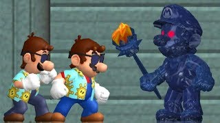 New Super Mario Sunshine - All Bosses