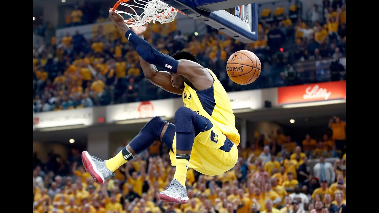 Nba S Best Dunks 2018 Nba Playoffs First Round Lebron James Giannis Ben Simmons And More Youtube