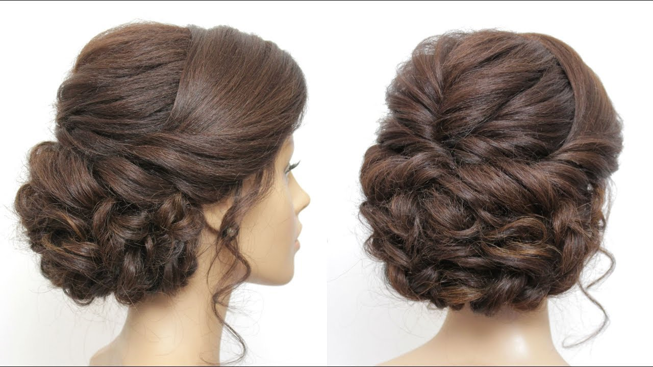 wedding prom updo tutorial. formal