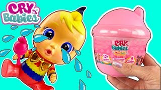 Cry Babies Magic Tears Baby Doll W Bottle Dollhouse NEW Cry Baby Dolls! - Doll Video